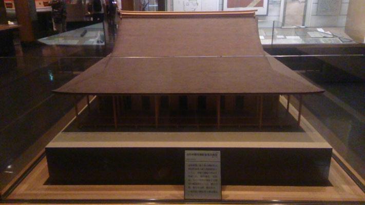 山科本願寺御影堂 復元模型①