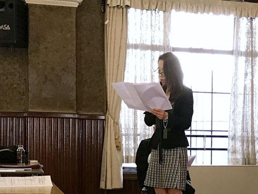 寺族女性会報告