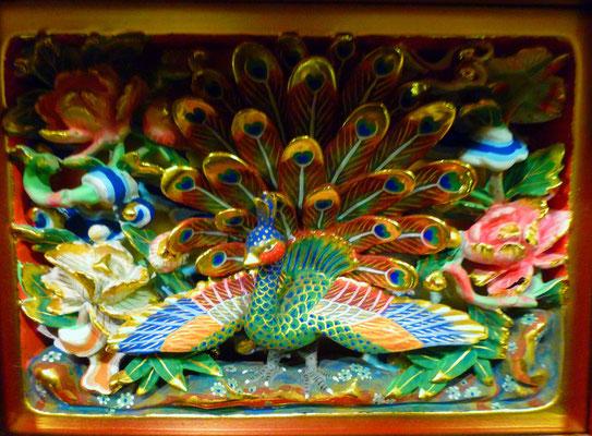 本願寺の孔雀