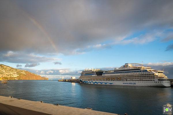 Im Hafen von Funchal / Madeira