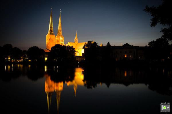 Lübeck bei Nacht