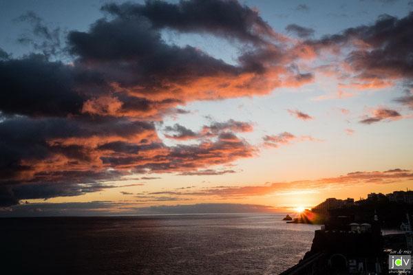 Sonnenuntergang Madeira