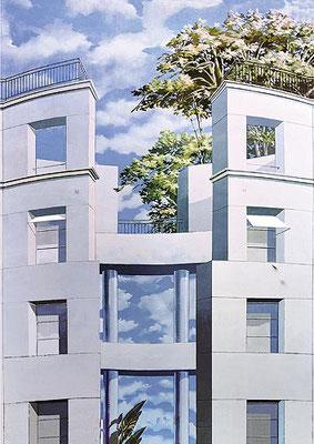 FRIEDRICHSTRASSE,  Friedrichstraße Berlin, 2000, Photo: Peter Bauer