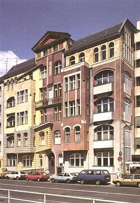 DURCHDRINGUNG  Lietzenburger Straße 94 Berlin, 1991, Auftraggeber: DeGeWo, Photo: DeGeWo Berlin