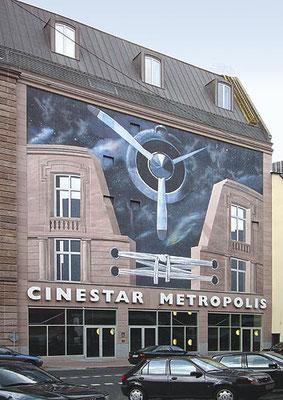 CINESTAR METROPOLIS I  Oeder Weg Frankfurt am Main, 2001, Auftraggeber: SAB Combau, Photo: Daniel Neuhaus