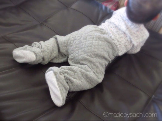 Simplicity1564 Baby's Footed Pants