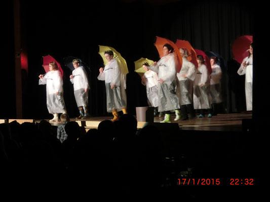Chränzli 2015 Der Auftritt