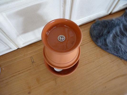 Frühbeet-Gewächshaus-Heizung Teelichtofen