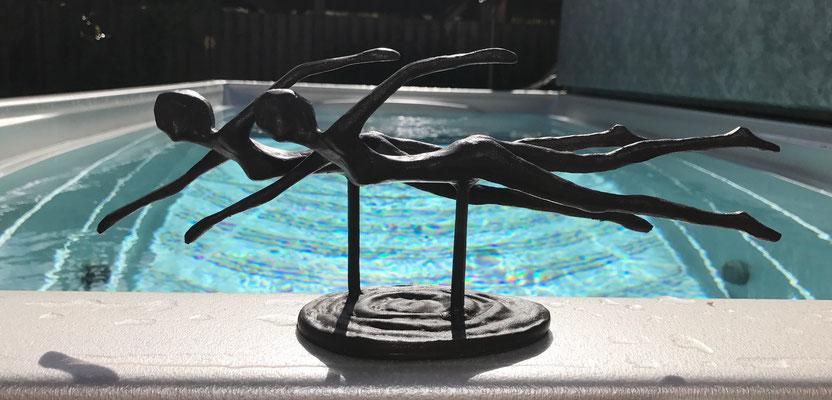 Schwimmspa schwimmen