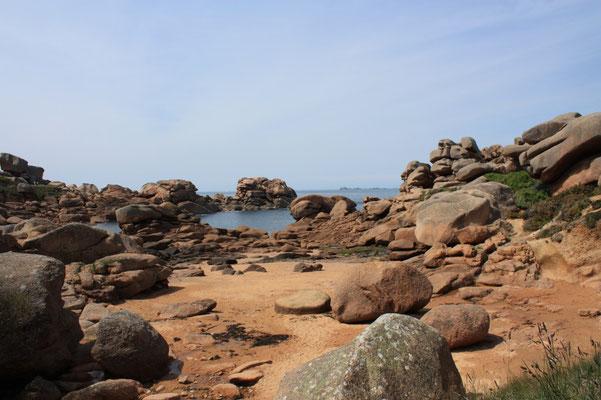 découvrir la côte de Granit rose