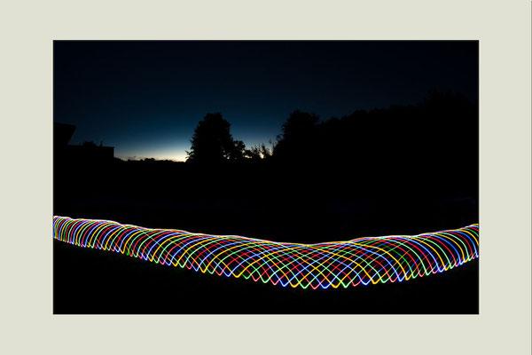 Lichtexperiment
