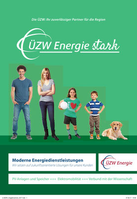 Lektorat Imagebroschüre ÜZW Energie AG 2017