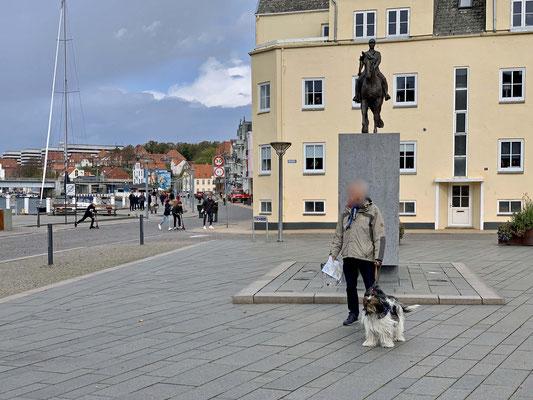 Wir waren in Sonderborg, da haben sie komische Treppen.