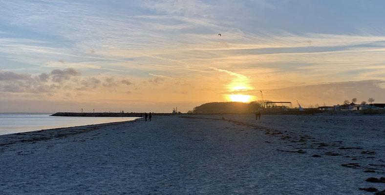 ... der Sonnenuntergang auch.