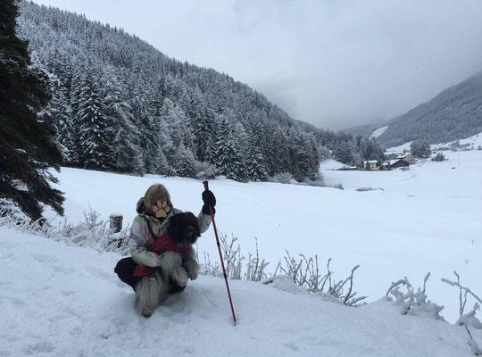 ... Schnee, ...