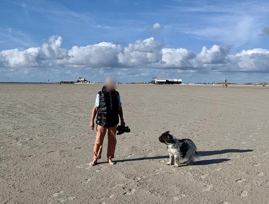 Dafür ist der Strand schön leer.