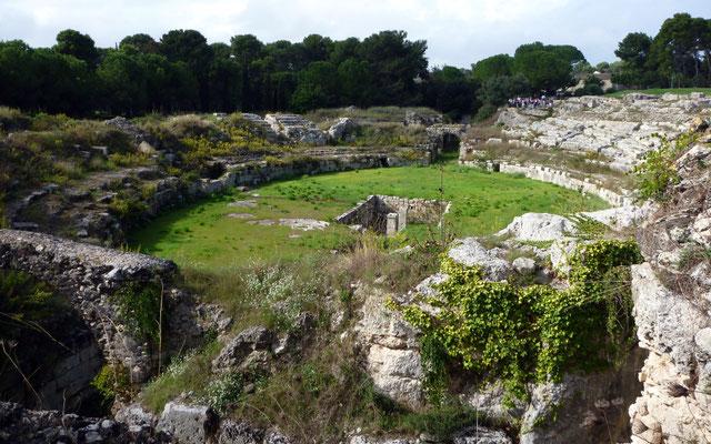 Anfiteatro Romano, Siracusa