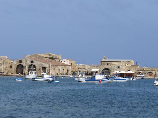 Das idyllische Fischerdörfchen Marzamemi