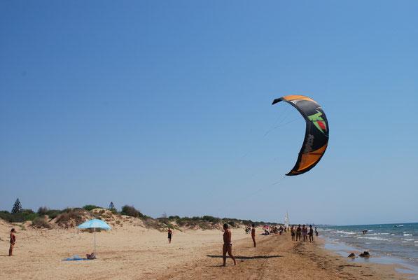 Hier können Sie kiten: Santa Maria del Focallo