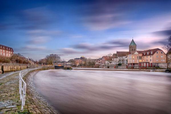 Rheinefotografie - Rheine - Foto - Emswehr