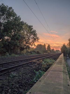Rheinefotografie - Rheine - Foto - Bahnstrecke