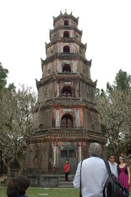 ティエンムー寺の7層の塔