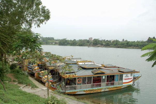 ティエンムー寺の前の川