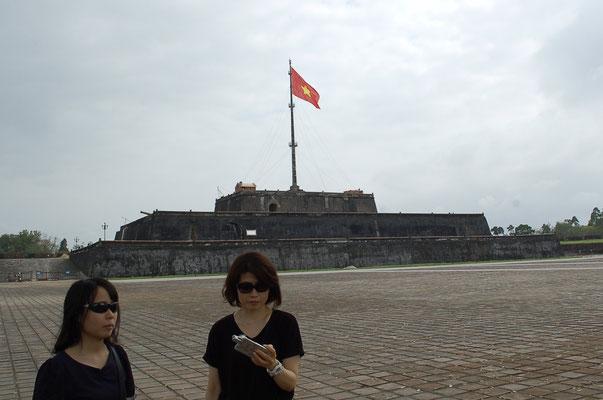 阮朝王宮のフラッグ・タワー