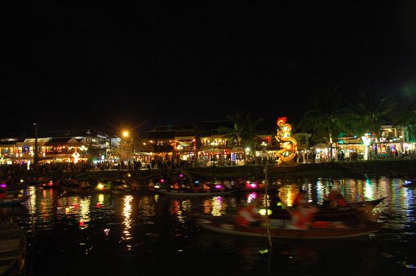 新市街の夜景