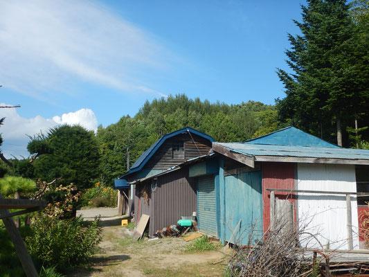 実家の納屋