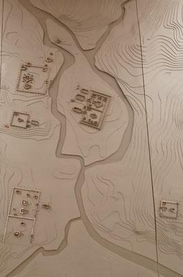 ミーソン遺跡の地図