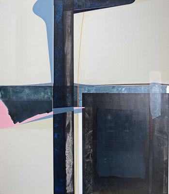0-ACHT-18 / mixed media, canvas / 150 x 130 cm