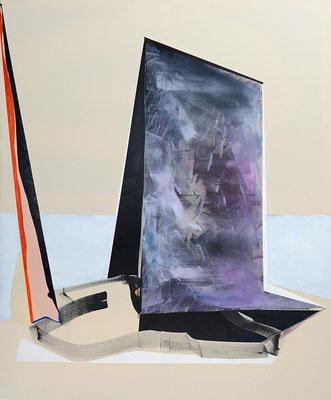 1-ZWEI-17 / mixed media, canvas / 180 x 150 cm