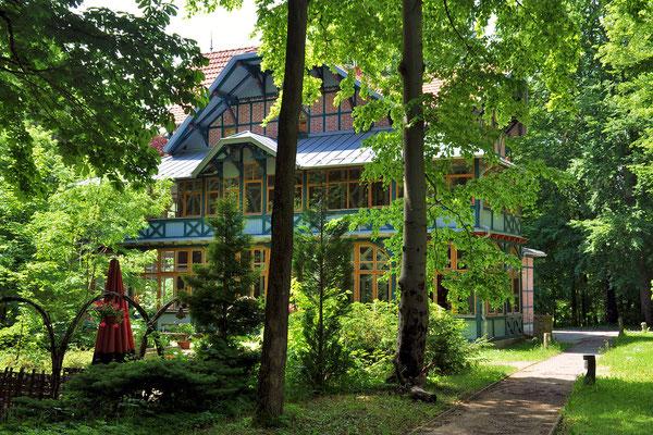 Das Kurhaus mit Ferienwohnungen und Seminarräumen