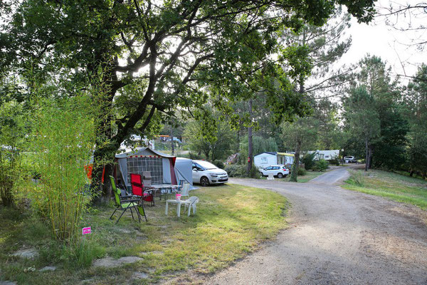 camping avec emplacement