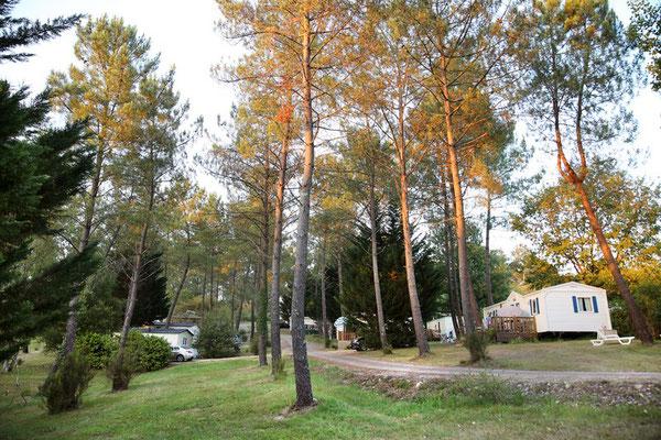 camping mobilhome dordogne