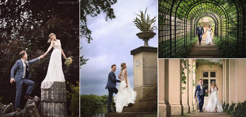 Schlossgarten Glienicke für Brautpaarbilder