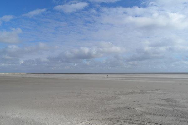 Strand, Meer und Himmel - unendliche Weite
