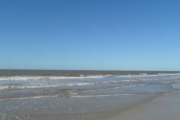 Die Nordsee an ruhigen Tagen