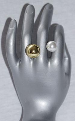 Gold mit Perle