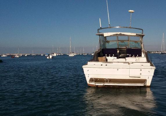 barco para despedidas de soltera