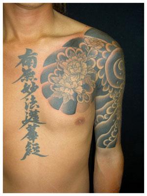 刺青、和彫り