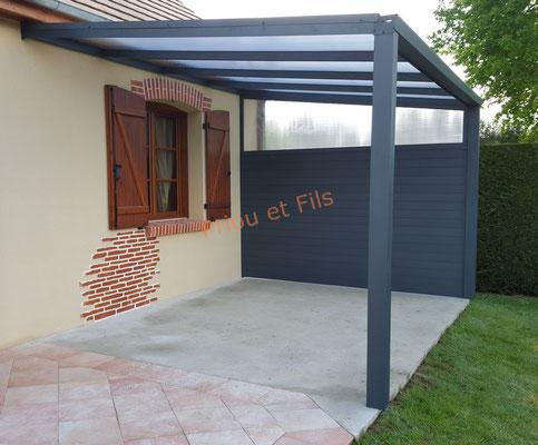 pergola aluminium, Priou et Fils, 41700 Contres, Blois, Loir et Cher