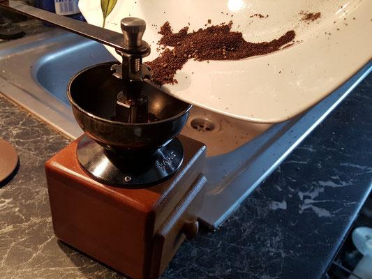 Ab in die Kaffeemühle