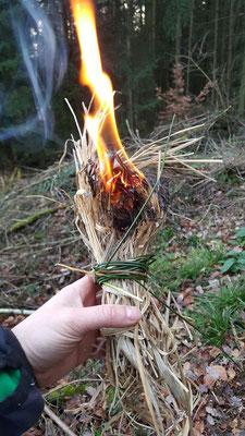 Endlich Feuer