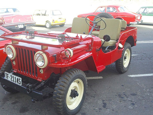 Willys Jeep, Series CJ, 1962