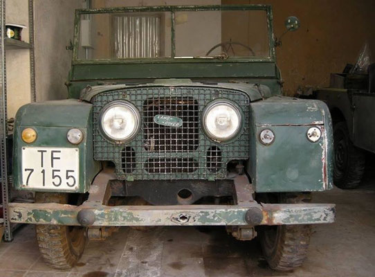 Land Rover Series I, 1952