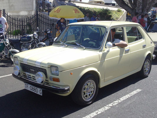 SEAT 127, 1975