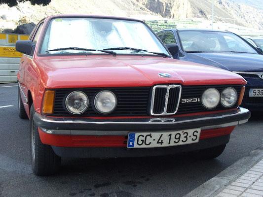 BMW 323i, 1982