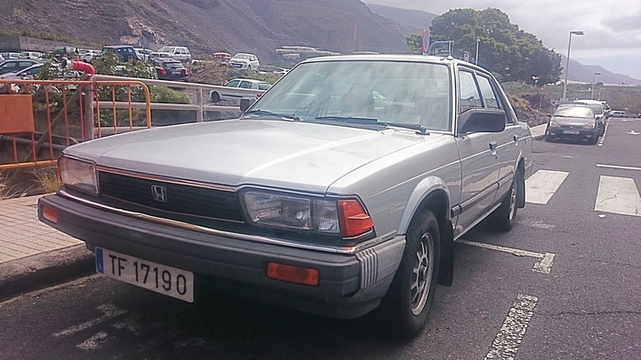 Honda Accord, 2. Generation, 1981 - 1985, 1982